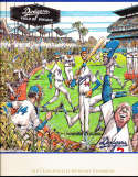 1991 Los Angeles Dodgers Baseball Yearbook Oversized