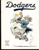1951 Brooklyn Dodgers Baseball Yearbook 3rd edtion