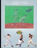 1996 Los Angeles Dodgers Baseball Yearbook nm