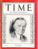 Calvin Coolidge 1928 1/16 Time Magazine em