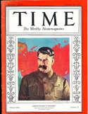 Joesph Stalin 1937 12/20 Time Magazine em