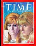 Lynn & Vanessa Redgrave 1967 Time Magazine em