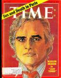 Marlon Brando 1973 1/22 Time Magazine em