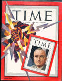 Harry Truman Man of the Year 1945 canadian Time Magazine