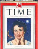 Elizabeth Taylor 1949 8/22 Time Magazine Canadian no label