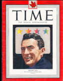 Gregory Peck  1948 1/12 Time Magazine  candian no label