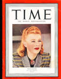 Ginger Rogers 1939 4/10 Time Magazine