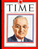 Harry Truman 1951 4/23 President Time Magazine Canadian
