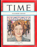 Elizabeth Arden Horseracing Time Magazine Classroom edition 1946 5/4