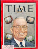 Harry Truman 1956 8/13 President Time Magazine Canadian