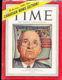 Harry Truman 1944 11/6 President Time Magazine Canadian
