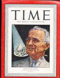 Harry Truman 1943 3/8 President Time Magazine