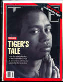2000 8/14 Tiger Woods  no label Time Magazine