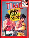 1982 6/14 Gerry Cooney Sylverster Stallone Time Magazine