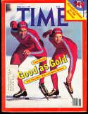 1980 2/11 Eric & beth Heiden Time Magazine