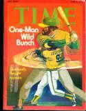 1974 6/3 Reggie Jackson A's  Time Magazine