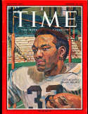1965 11/26 Jimmy Brown Time Magazine nm