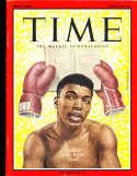 1963 3/22 Cassius Clay Time Magazine em