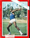 1960 8/29 Rafer Johnson Decathlon Time Magazine em