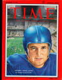 1954 11/29 Bobby Layne Lions Time Magazine Canadian no label