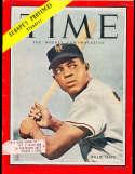 1954 7/26 Willie Mays Giants  Time Magazine em