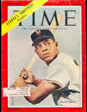 1954 7/26 Willie Mays Giants  Time Magazine ex