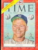 1953 6/15 Mickey Mantle Time Magazine Pacific vg