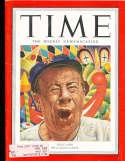 1951 10/1 Bert Lahr Giants Time Magazine em