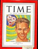 1947 9/1 Jake Kramer Tennis Time Magazine em