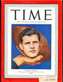 1947 11/3 Bob Chappuis  Michigan Time Magazine em