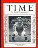 1935 10/7 Mickey Cochrane Tigers Time Magazine