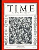 1935 11/11 football Stadium fans Time Magazine