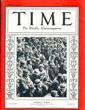 1930 11/17 Football Public stadium Time Magazine crease