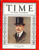 1930 5/26 Earl of Derby Time Magazine