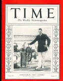 1930 9/15 Harold Vanderbilt  Yachting Time Magazine
