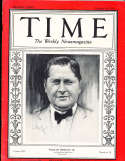 1929 10/14 William Wrigley Chicago Cubs  Time Magazine