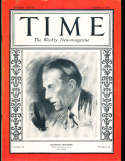 1927 10/3 Graham McNamee Cubs broadcaster HOF Time Magazine