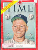 1953 6/15 Mickey Mantle New York Yankees Canadian Time Magazine