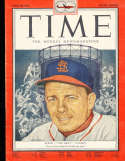 1952 4/28 Eddie Stanky Cardinals  pacific Time Magazine