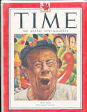 1951 10/1 Bert Lahr Giants Time Magazine Canadian