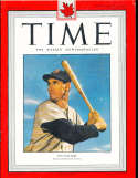 1950 4/10 Ted Williams Boston Red Sox Time Magazine Canadian