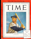 1950 4/10 Ted Williams Boston Red Sox Time Magazine Pacific