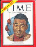 1951 6/25 Sugar Ray Robinson Time Magazine no label
