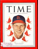 1949 9/5 Stan Musial St. Louis Cardinals Time Magazine