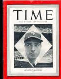 1948 10/4 Joe Dimaggio New York Yankees Time Magazine