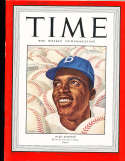 1947 9/22 Jackie Robinson Brooklyn Dodgers  Time Magazine Proof