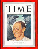 1947 4/14 Leo Durocher Dodgers newsstand Time Magazine