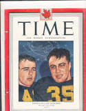 1945 11/12 Glen Davis & Doc Blanchard Army Canadian Time Magazine
