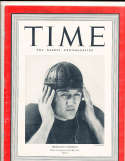 1939 11/6 Tom Harmon Michigan Time Magazine