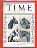 1937 5/10 Kentucky Derby Blue Grass Horse Racing Time Magazine